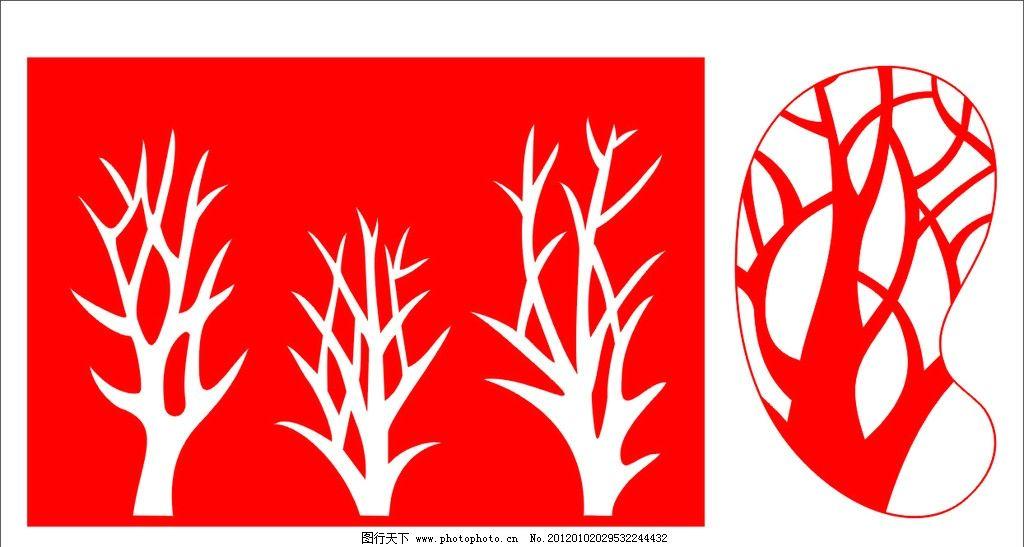 镂空花 刻花图案 镂空雕花 花纹花边 通花 底纹边框 矢量