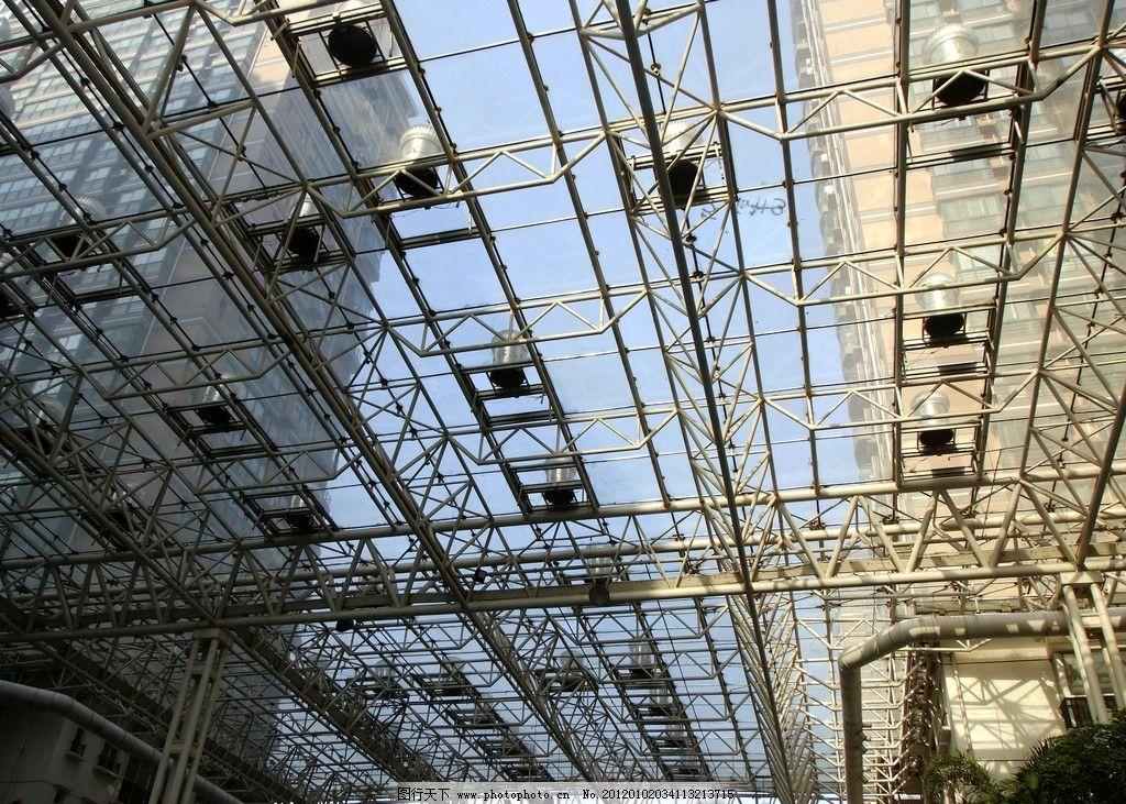 钢结构建筑摄影图片