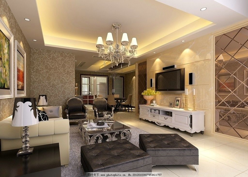 沙发 电视 柜子 室内设计 环境设计 设计 72dpi jpg