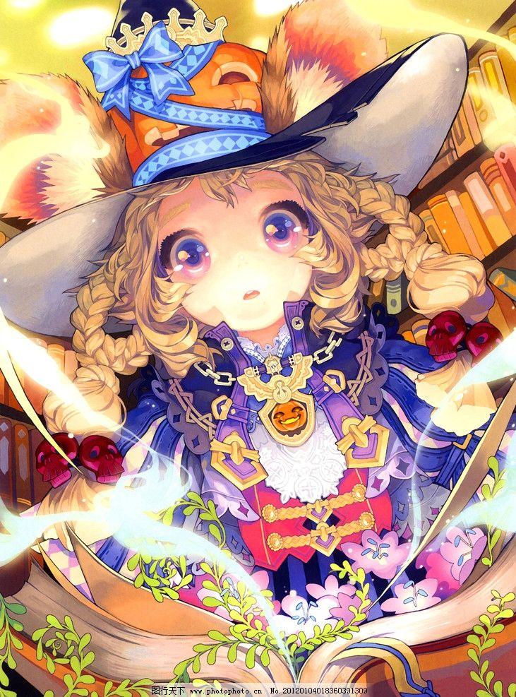 童话故事 童话 故事 书籍 读书 女孩 感动 卡通 绘本 手绘 艺术 油画