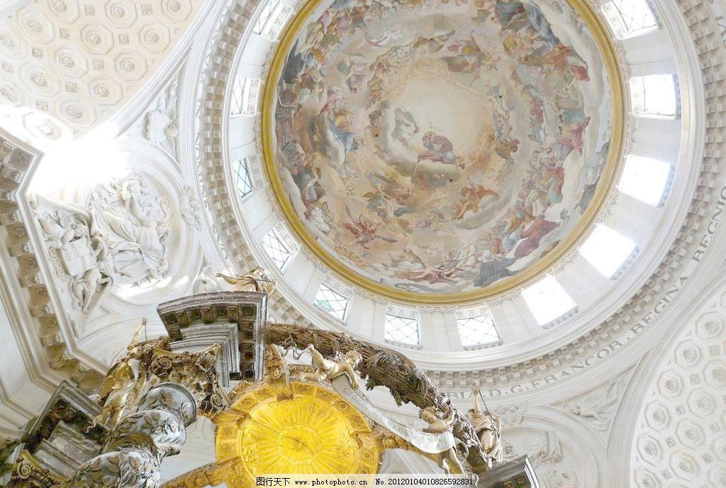 欧式圆顶图片免费下载