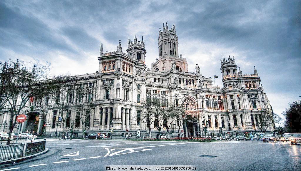 欧式建筑物图片
