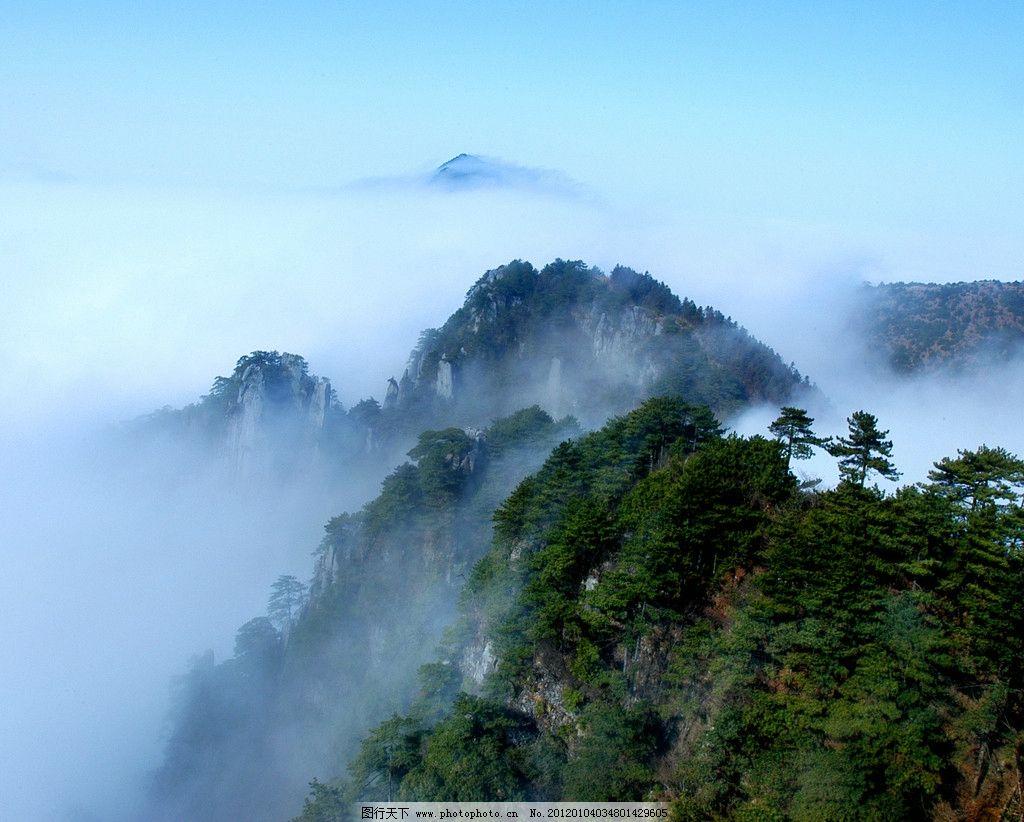 宜春明月山风景图片