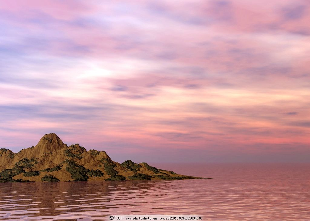 山水海洋风光图片_自然风景_自然景观_图行天下图库
