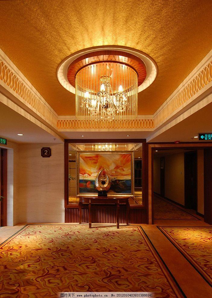 室内 设计 大堂 大厅 电梯厅 电梯间 地毯 吊顶 水晶灯 中庭 欧式