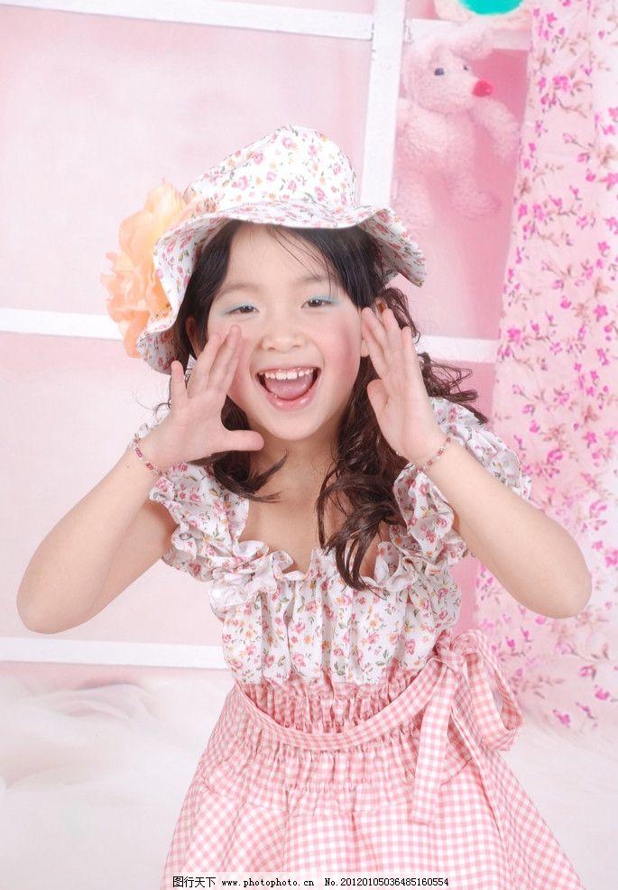 小女孩 可爱 照片 儿童