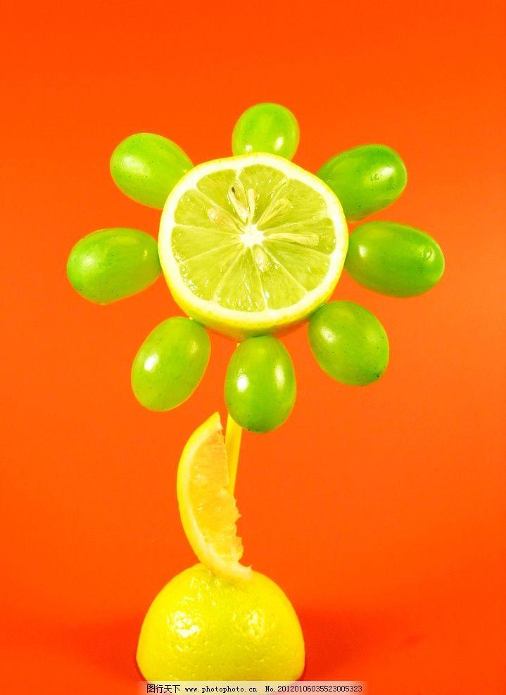 水果创意广告摄影图片