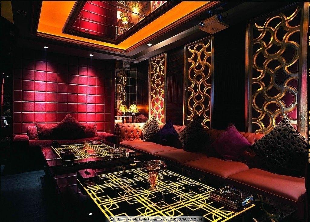俱乐部 夜总会 沙龙 夜店 室内 酒店 歌厅 酒吧 包厢 包房图片