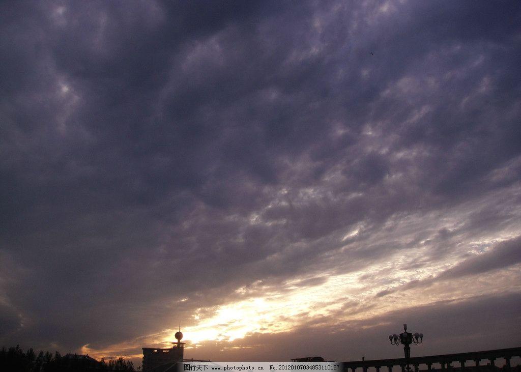 晚霞 云彩 渐变 黄昏 自然风景 自然景观 摄影 72dpi jpg