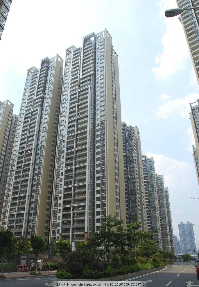 广州猎德村高楼 城中村 城市改造 牌坊 建筑摄影 建筑园林