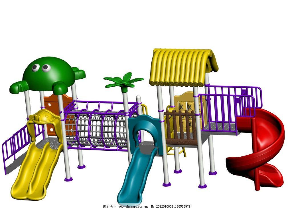 幼儿园小博士滑梯 滑梯 3d作品 3d设计 设计 72dpi jpg