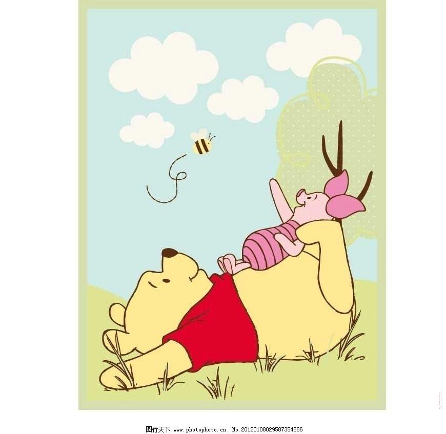 维尼小熊 维尼 迪斯尼 卡通 小猪 广告设计 矢量 ai