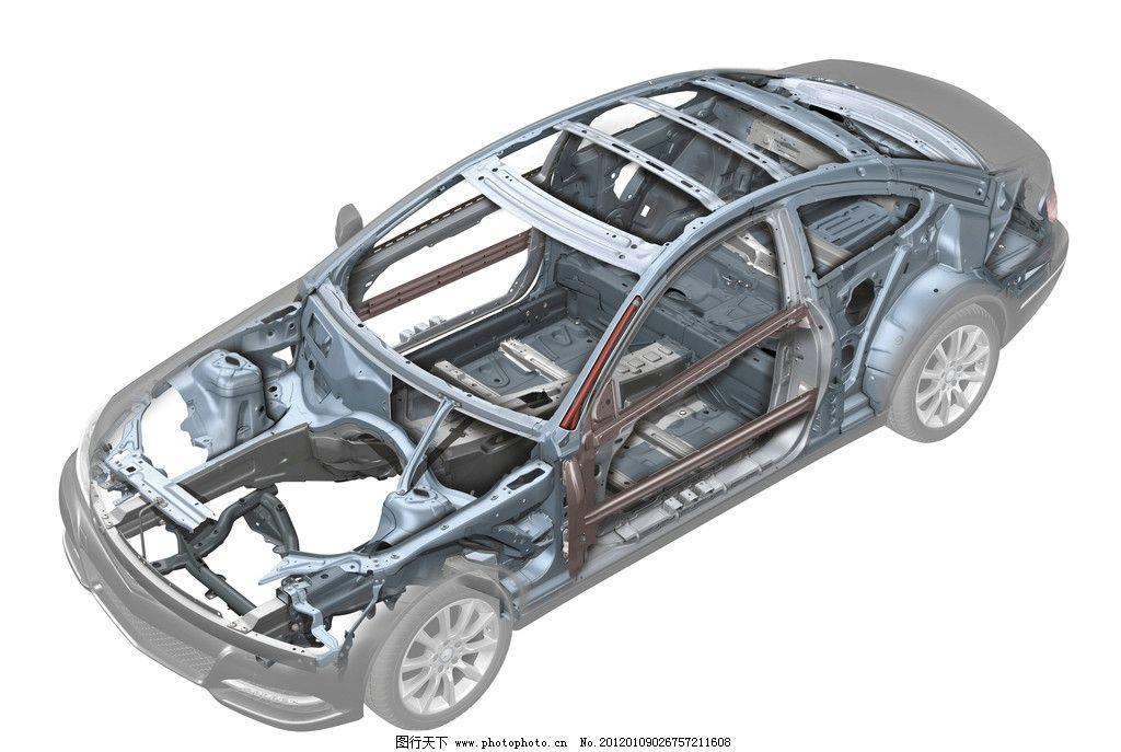 奔驰汽车架构 奔驰 汽车 架构 结构 设计图 交通工具 现代科技 设计