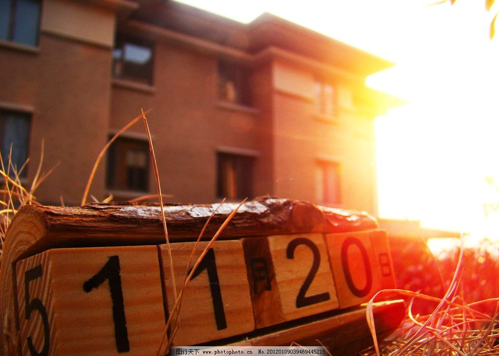 房子 楼盘 房地产 地产 欧式 日历 色子 骰子 月历 木头 原木 建筑