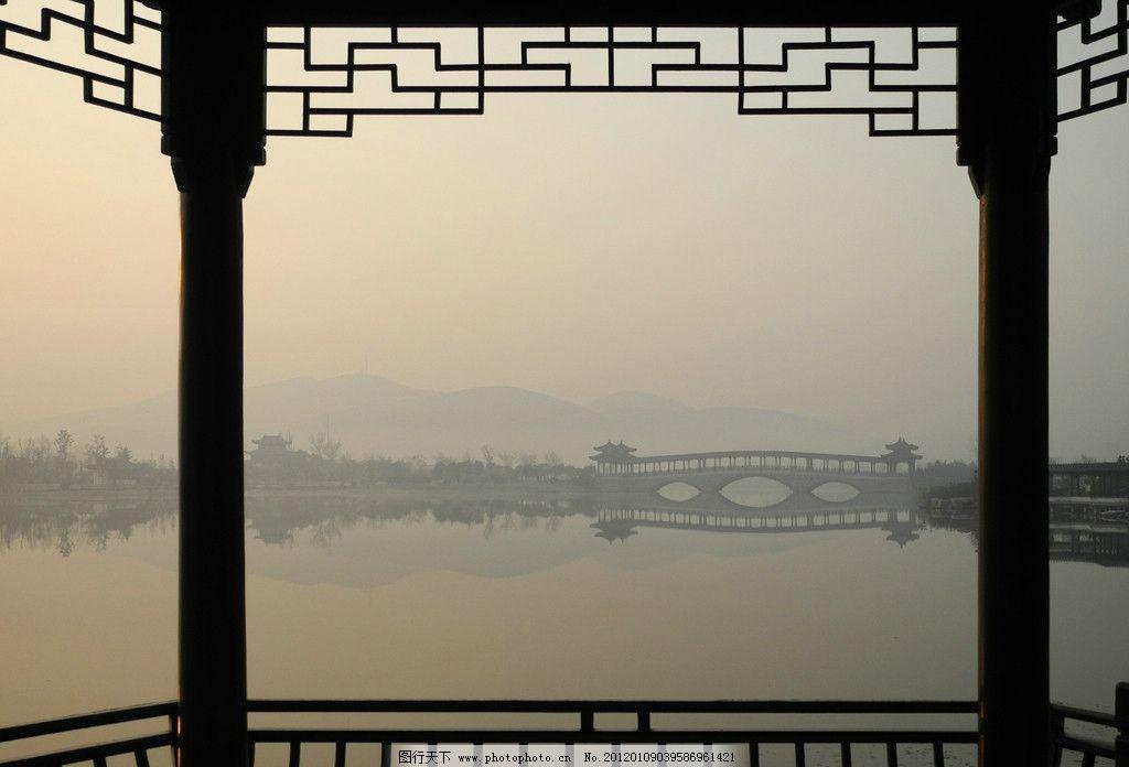云龙湖廊桥 云龙湖 廊桥 画楹 湖光 山色 风景 园林建筑 建筑园林