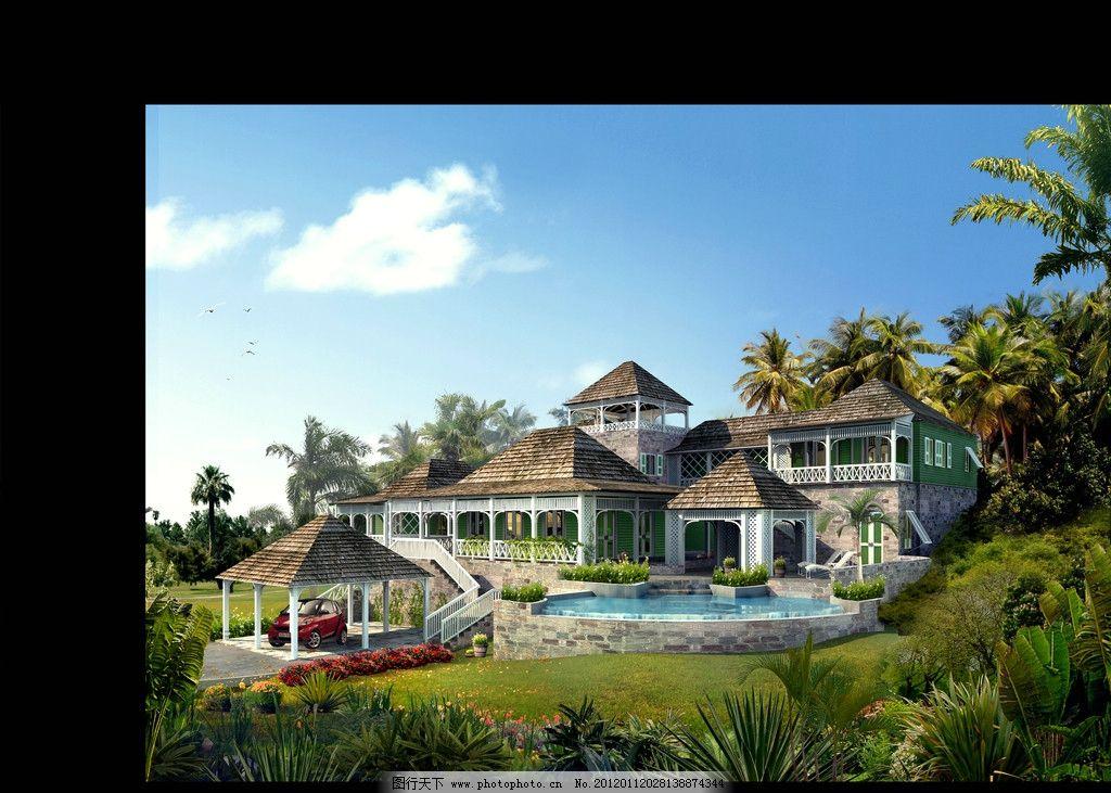 设计图库 环境设计 景观设计  室外景观设计 景观设计 建筑效果图