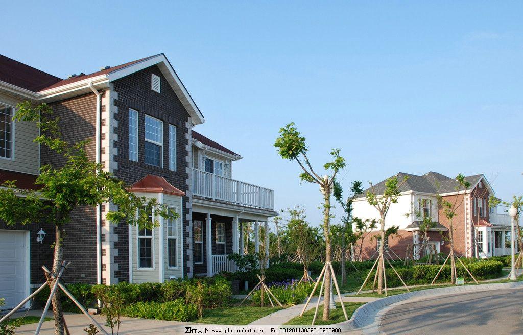 西式风格别墅小区图片