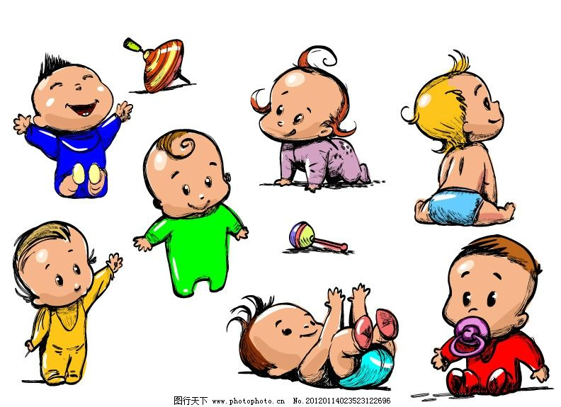 可爱小宝宝图片