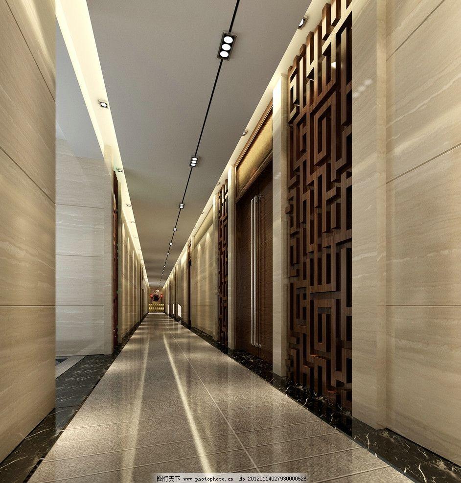 走廊 过道 室内设计 环境设计 设计 300dpi jpg