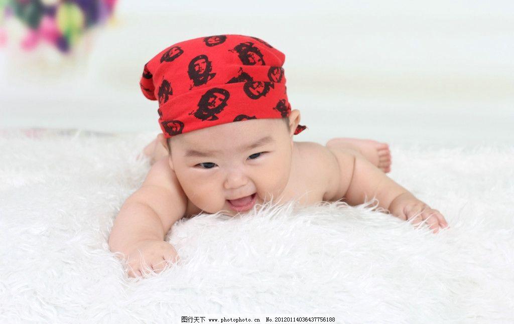 宝宝照 宝宝百天照 婴儿 宝贝 可爱 艺术照 幼儿 漂亮 男孩 笑脸 儿童
