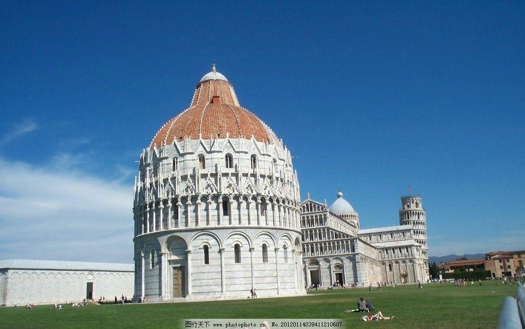 圆顶欧式建筑图片