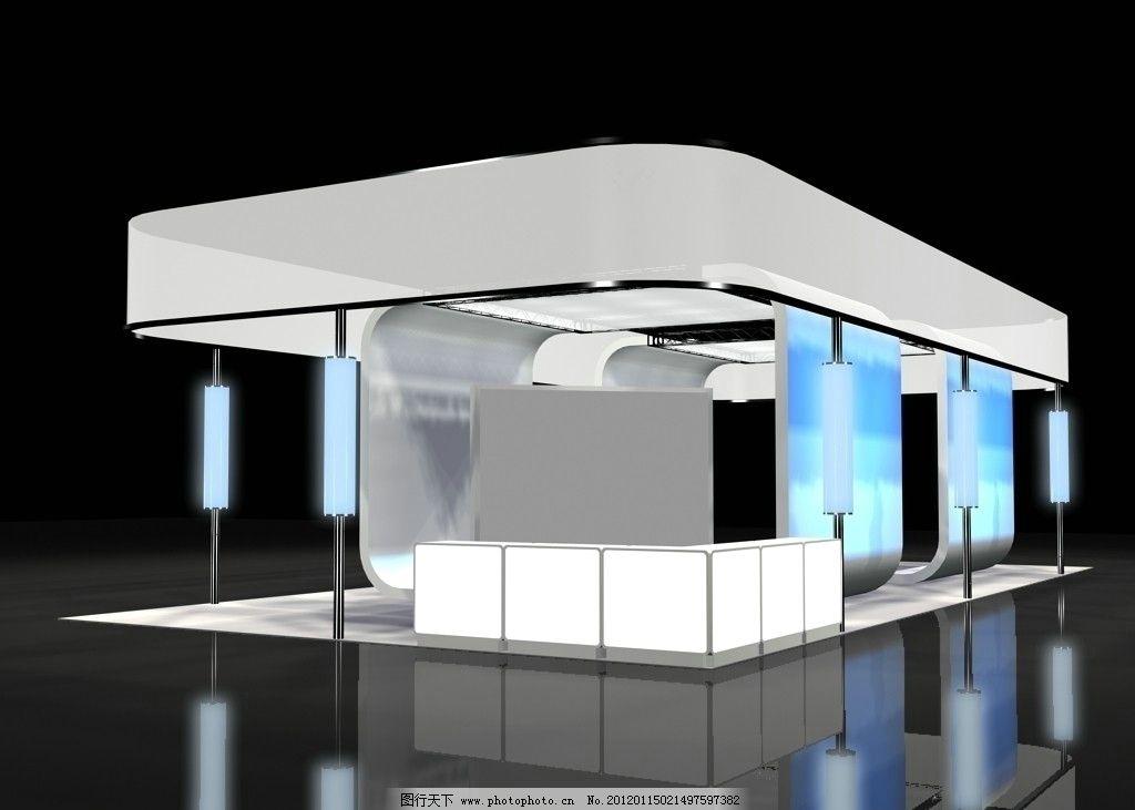 3d設計模型 模型 三維 三維設計 展廳 展示 展示設計 展位 展會 會展