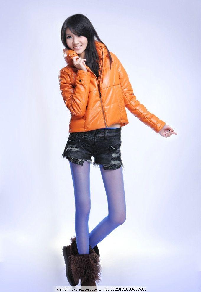 时尚美女 品牌 女装 冬装 服饰 广告摄影 女性女人 人物图库