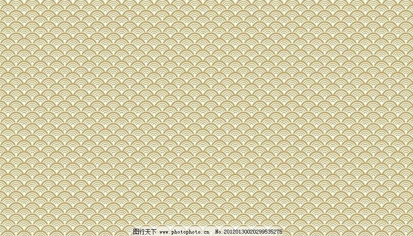 云纹 中国风 底纹 传统 中国 海浪 底纹背景 底纹边框 矢量 cdr