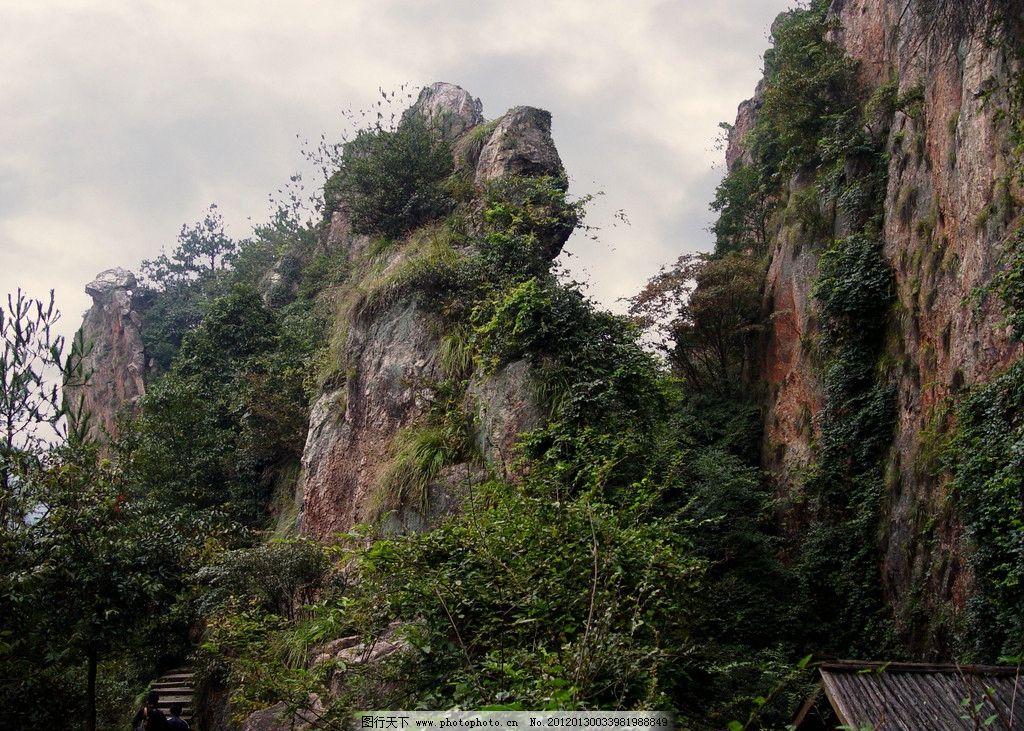 浦江仙华山风景图片