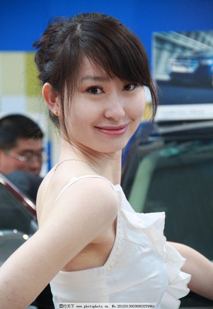 中国 美女 模特图片