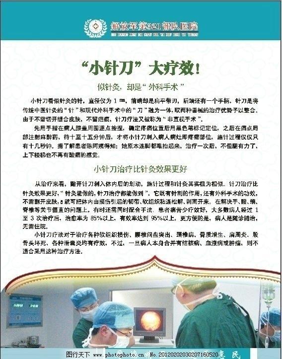 医院 骨科展板图片