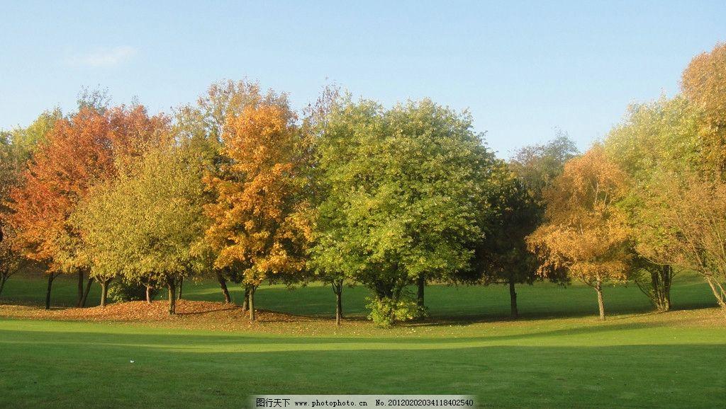 欧洲旅游之行 图片库 蓝天 白云 山水 树林 山谷 草地 自然风景 旅游