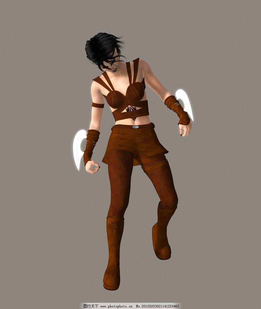 3d游戏人物图片
