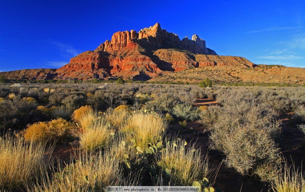 美国高原风光图片_自然风景_自然景观_图行天下图库