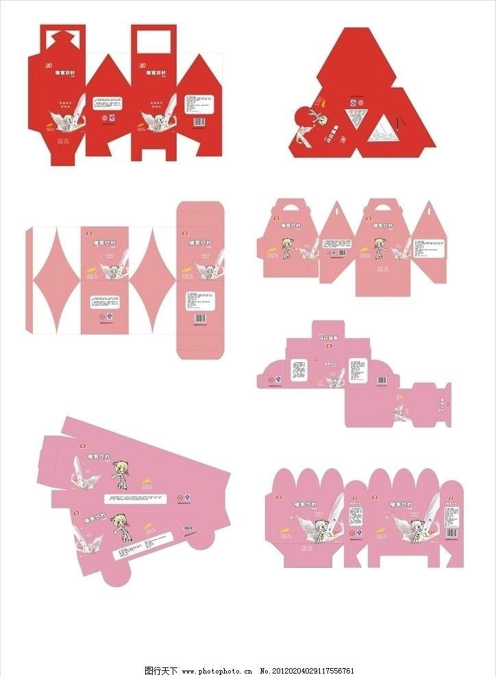 雅客牛奶糖一系列包装设计宣传图片