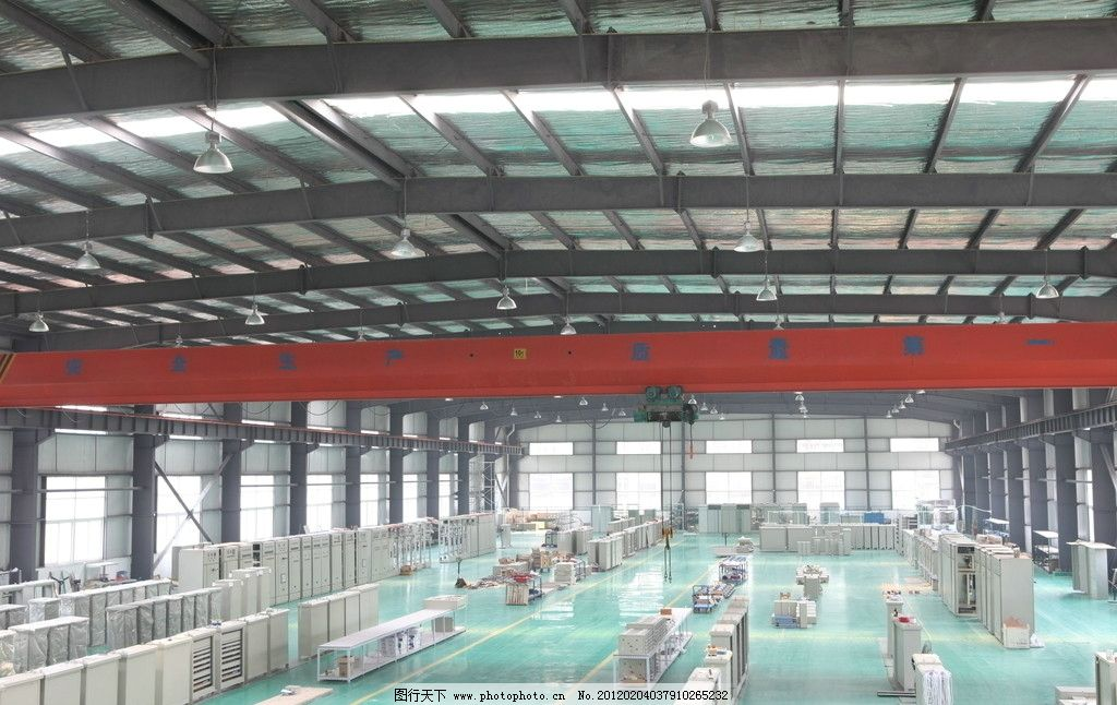 现代 电器厂房图片
