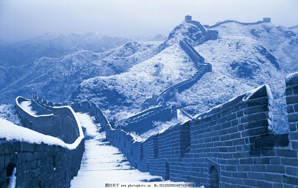金山岭长城 长城 北京长城 雄伟 绵延 暖色调 近景 弯曲 曲线美 透视