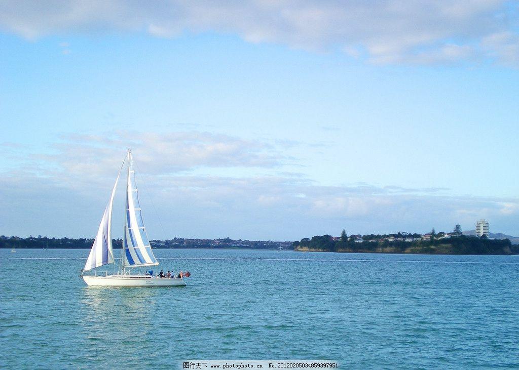 大海帆船 帆船 大海 海 海岸线 小岛 岛屿 海岛 自然 自然美景 自然风