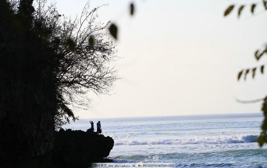 巴厘岛海滩风光 巴厘岛 大海 小岛 岛屿 人 摄影 风景 无边 国外旅游