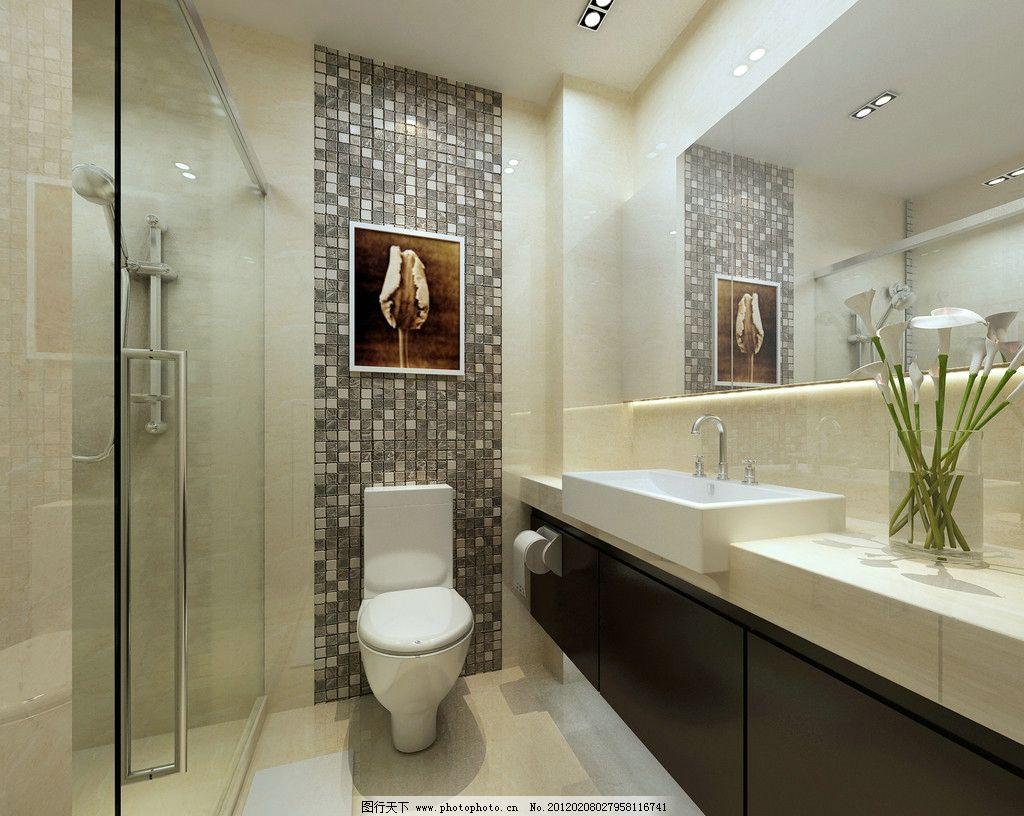 卫生间图片_室内设计_环境设计_图行天下图库