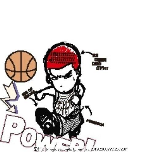 樱木花道 篮球 卡通 灌篮高手 矢量广告设计 广告设计 矢量 ai