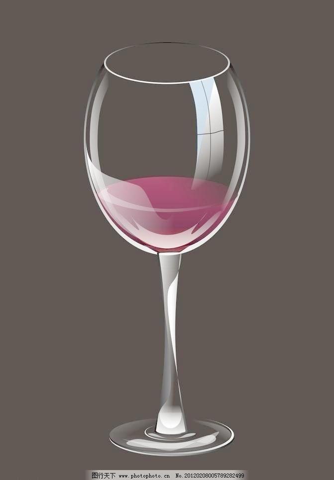 高脚杯矢量素材 高脚杯模板下载 高脚杯 杯子 矢量图 红酒 矢量杯子