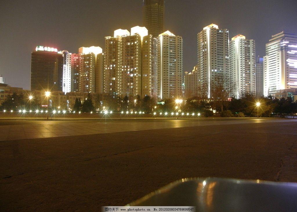 青岛夜景东海路图片