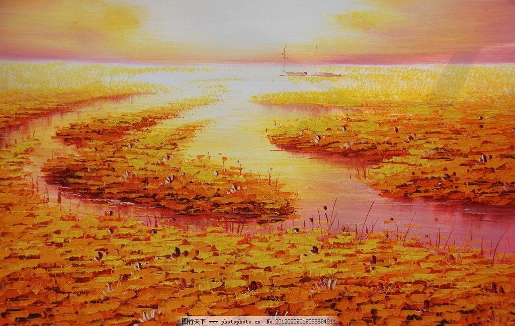 壁纸 成片种植 风景 油画 植物 种植基地 桌面 1024_648