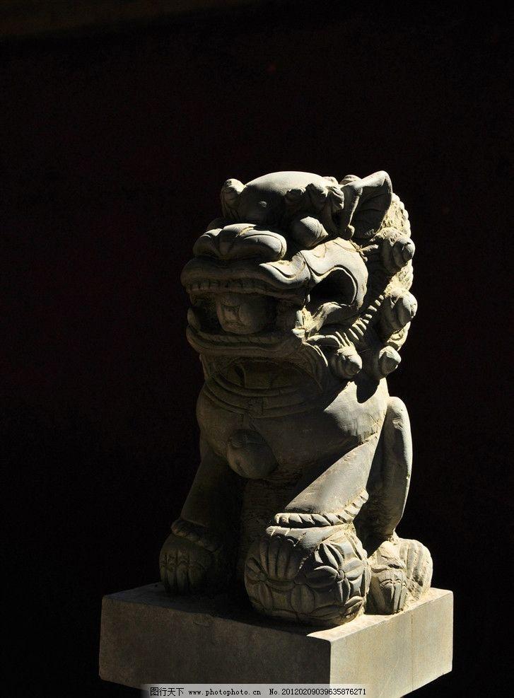 石狮雕塑图片