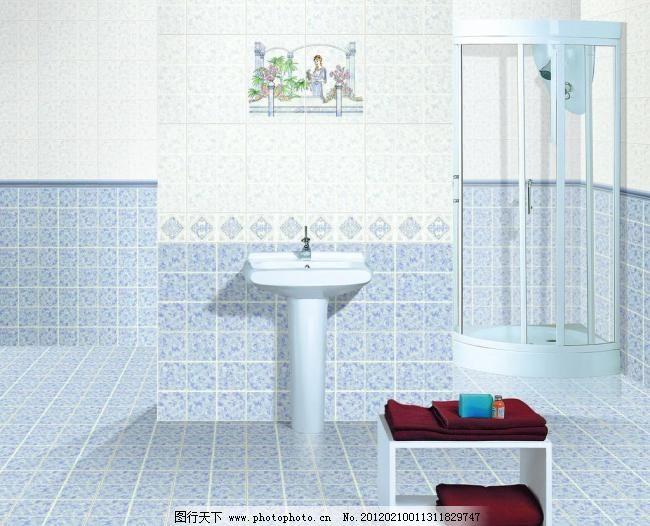 浴室 浴室图片免费下载 淋浴 室内设计 卫浴 浴巾 洒花喷头 洗脸台
