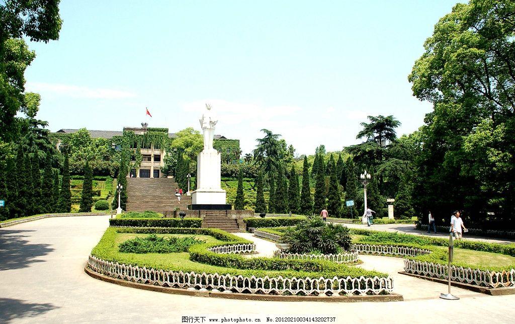 生态公园 公园 园林 花坛 雕塑 雕像 园艺 大树 树林 生态 自然 自然