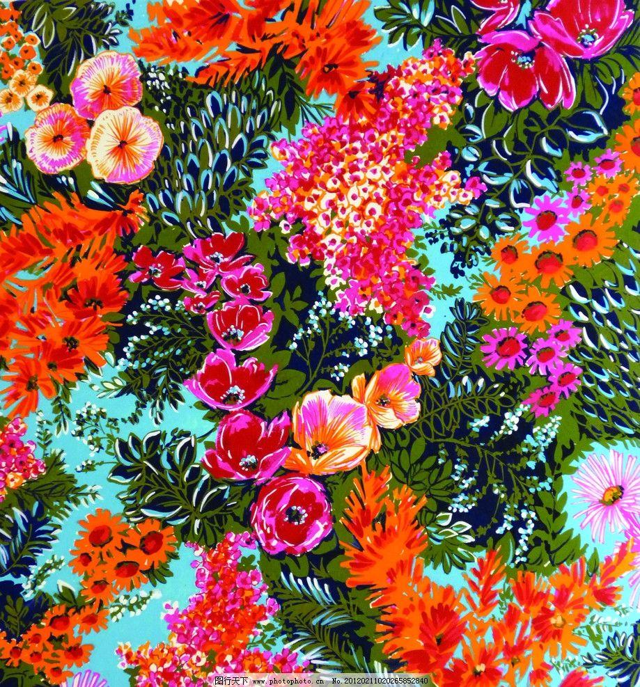 时尚靓丽水粉花卉图片
