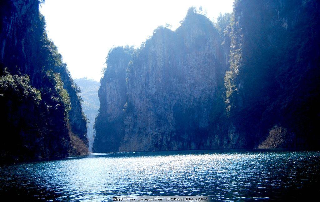 铜仁天生桥大峡谷 铜仁 天生桥 绿色 风景 自然 峡谷 旅游 景点 贵州