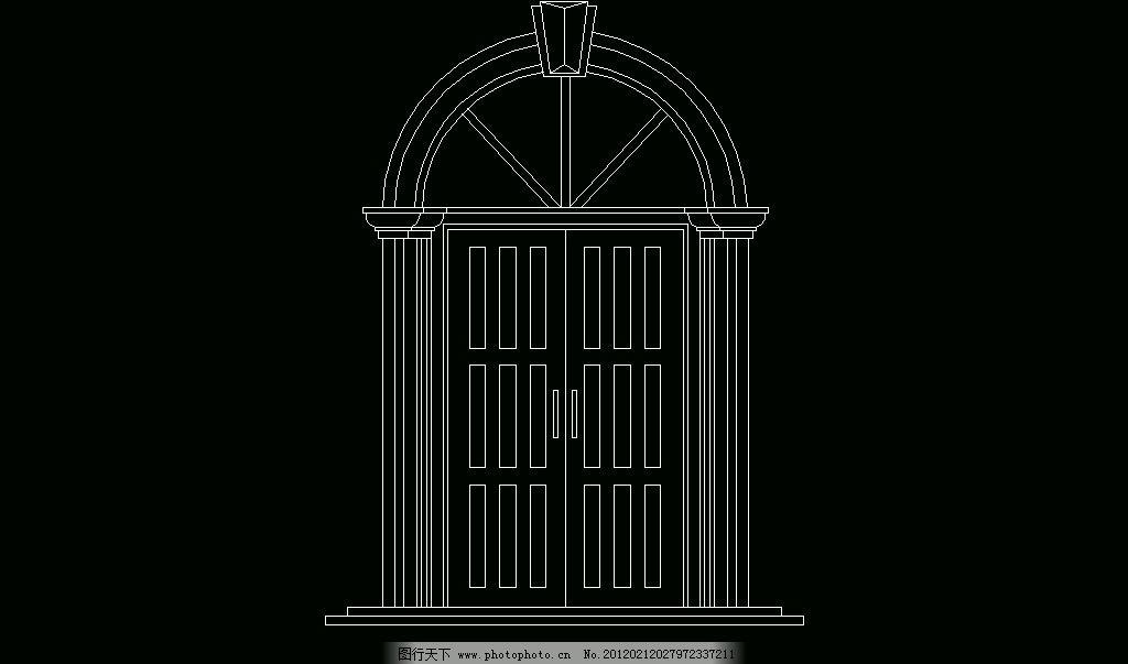 欧式构造 门套 建筑风格 欧式 古典 西式 室内设计 构件 门框 装修